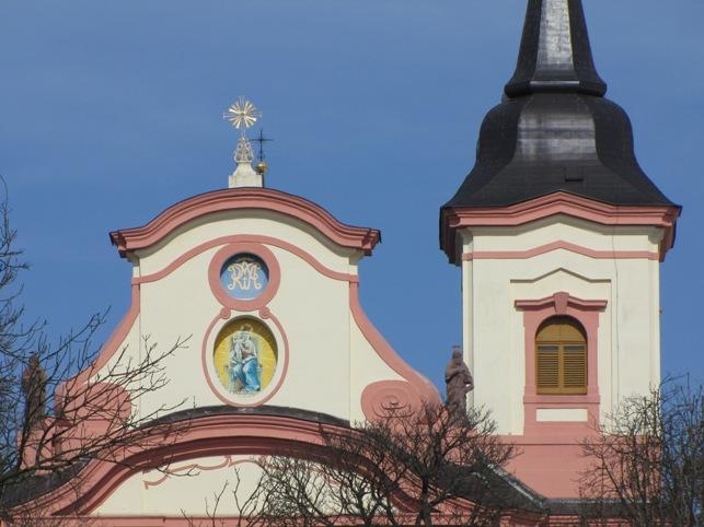 Nov Paka kostel detail