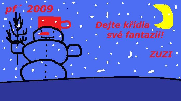 PF 2009 zuzi snehulak