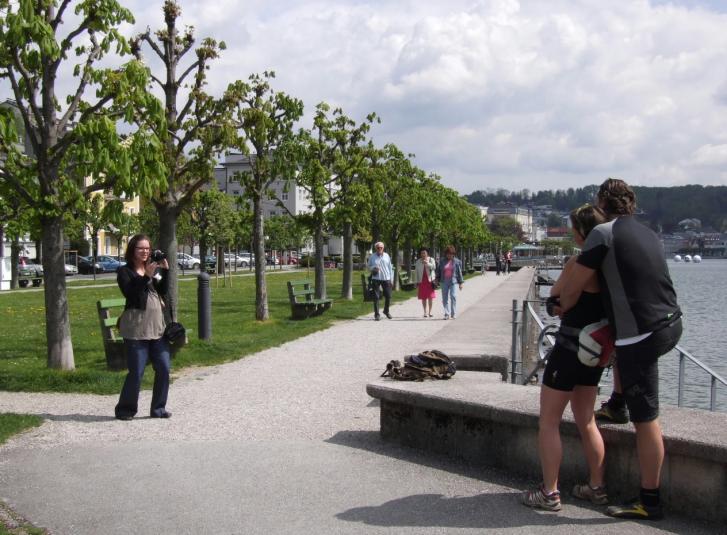 Traunsee esplanade