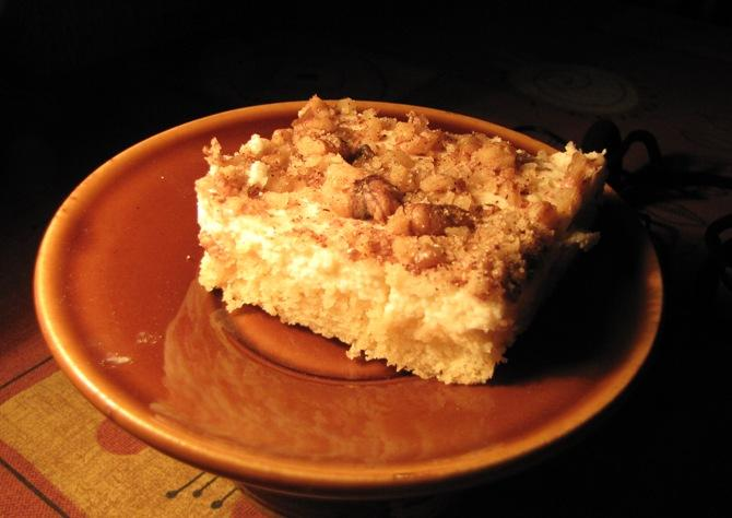 recky tvarohovy kolac s kokosem