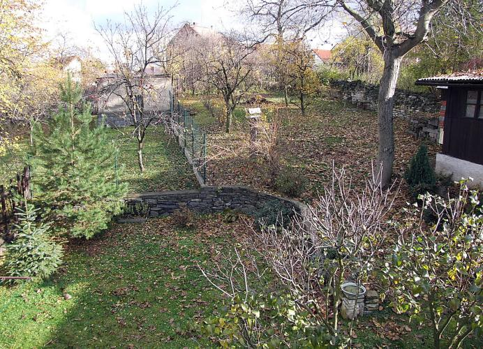 zahrada na podzim