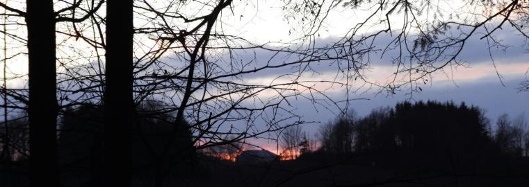 zboznov zapad slunce