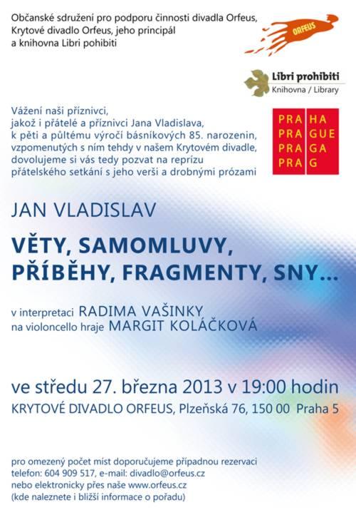 VLADISLAV 2 - pozvánka
