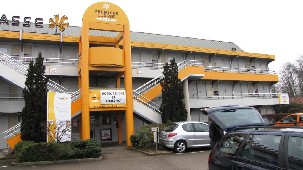 Hotel Premiere Classe v Perpignanu