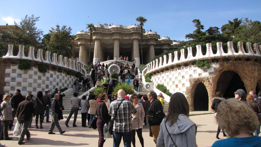 Park Güell - vstup