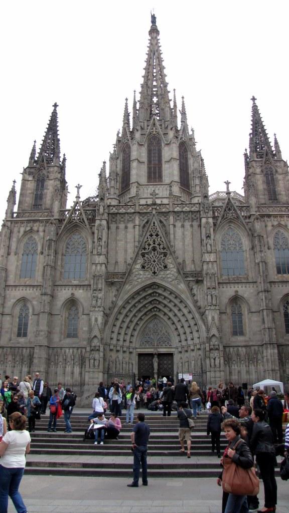 Katedrála Barcelona