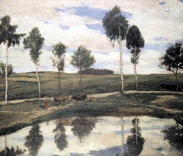 Antonin_Slavicek_-_U_nas_v_Kamenickach_(1904)