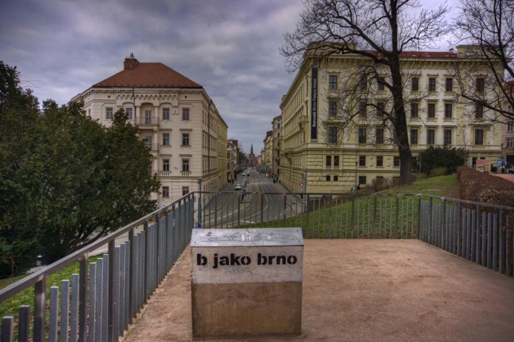 Brno, Petrov a Husova ulice
