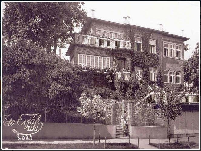 Vila Jana Bati z roku 1931